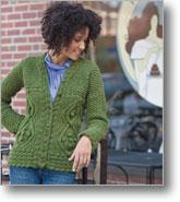 http://www.interweave.com/Knitting/Patterns/Braided-Riding-Jacket.html