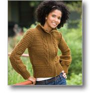 Crochet Cable Jacket