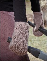 Crochet Mittens - Digory Mittens by Brenda K. B. Anderson