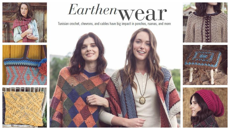 Interweave Crochet Winter 2017: Earthen Wear