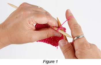 Bind-off knitting technique: Instructions for the decrease, or lace, bind-off in step-by-step instructions.