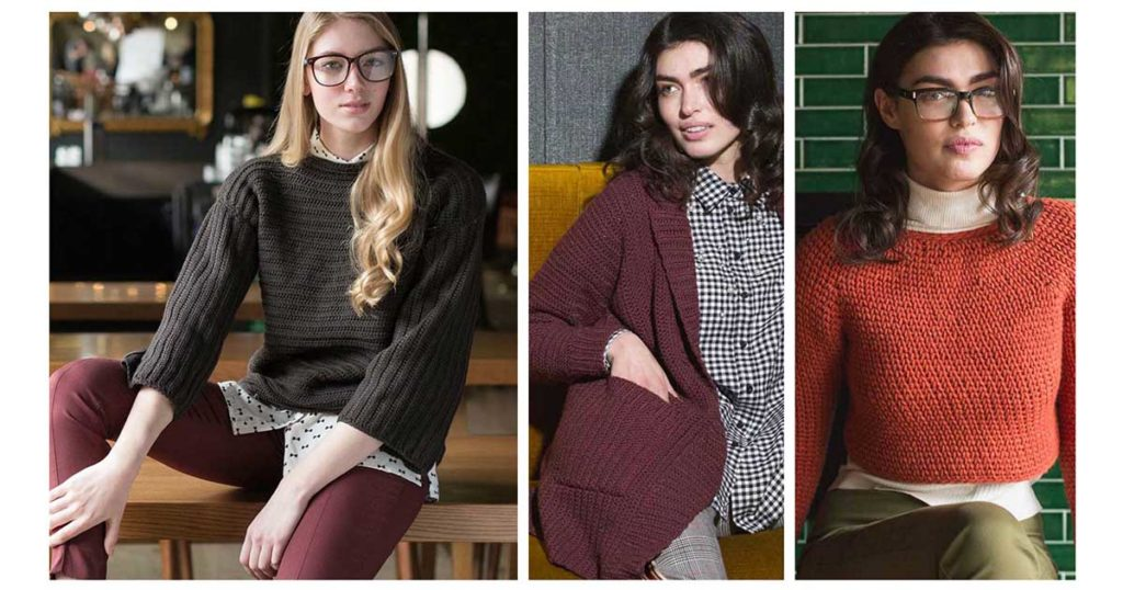 5 Easy Crochet Sweater Patterns For First Time Garment Makers