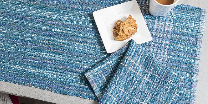 Weekend Weaving: Easy Street Napkins and Runner