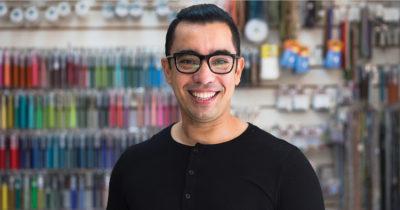 beading artist beadwork Edgar Lopez