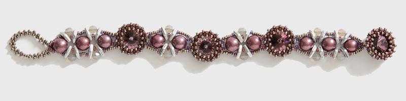 Eleanor Bracelet Amethyst Colorway