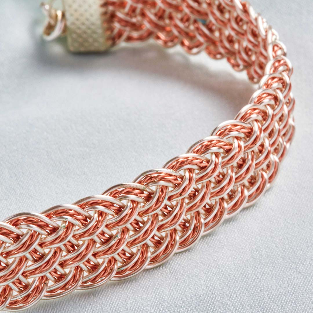 Kumihimo Wirework Made Easy: Elegant Bracelet