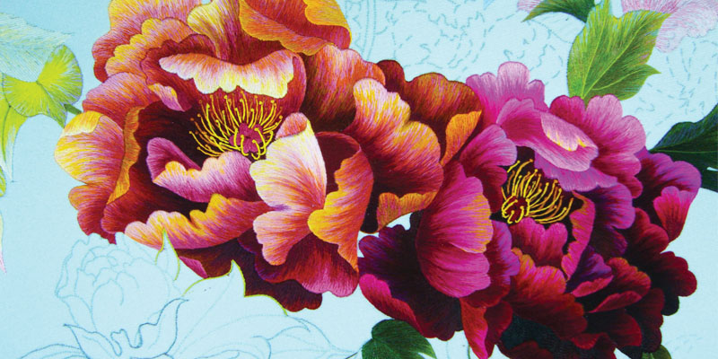 Vietnamese Silk Embroidery