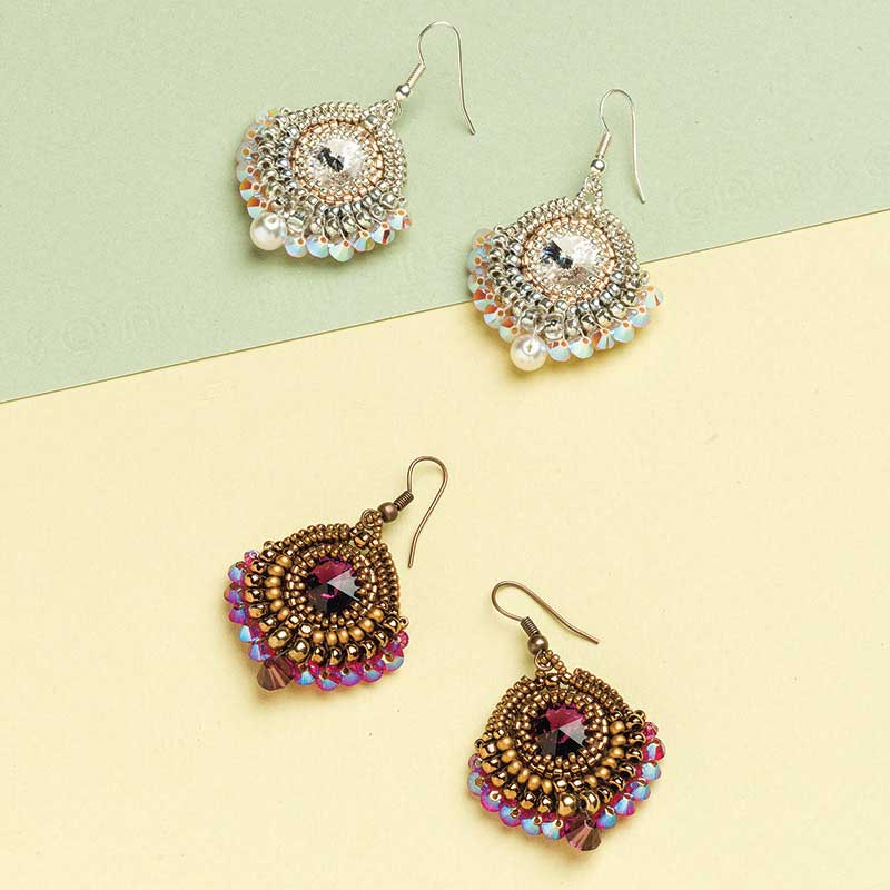 Beaded bezel projects you need in your life interweave