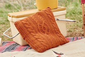 Entwined Cables Pillow