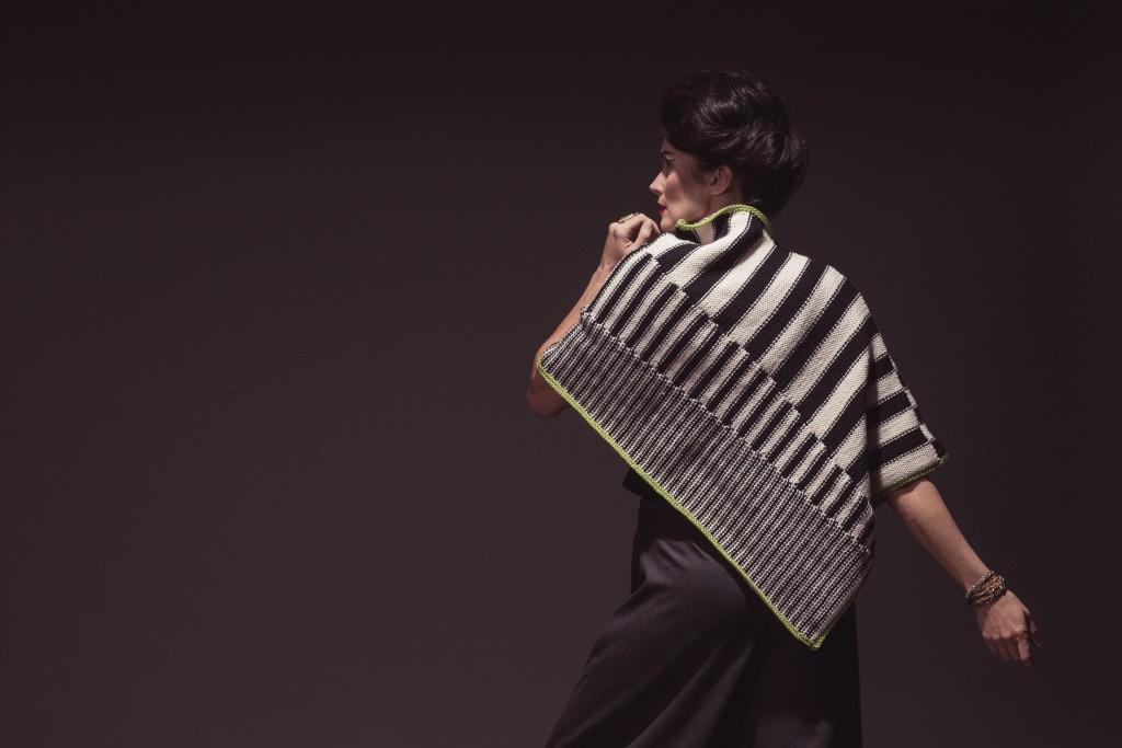 The fabulous Escher knit poncho pattern