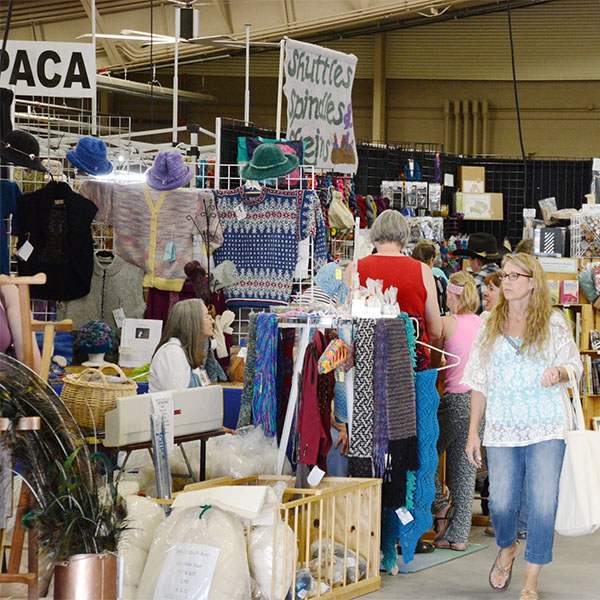 Come and browse over 70 vendors at the 2017 Estes Wool Market. Photo by Stevie Crecelius.
