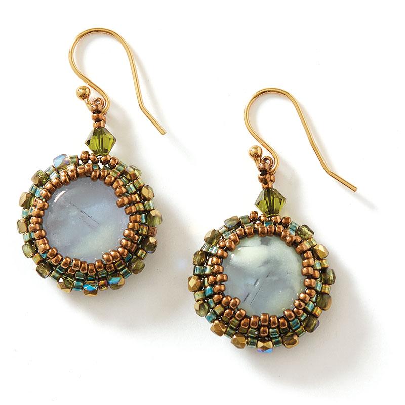Ethereal Glow Necklace earrings