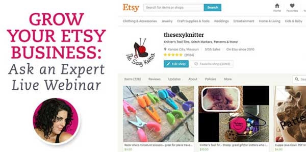 Grow your Etsy business!