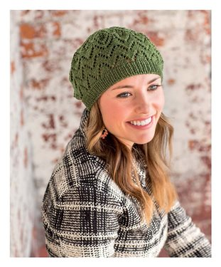 Free knitted hat patterns: Salunga Beret.
