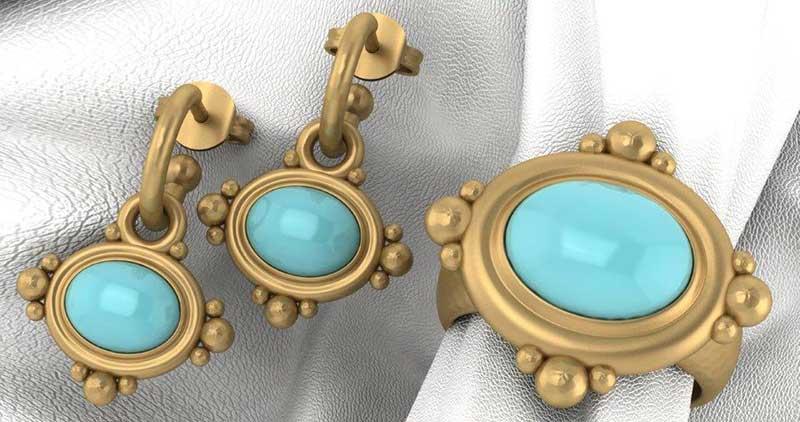 Gemstones and Birthstones - Turquoise - the amazing blue stone of many shades.