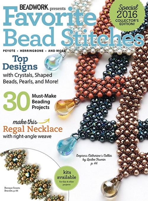 Beadwork magazines, Favorite Bead Stitches issue, 2016