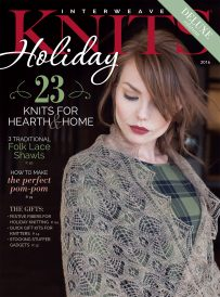Interweave Knits Holiday 2016 is full of knit mittens