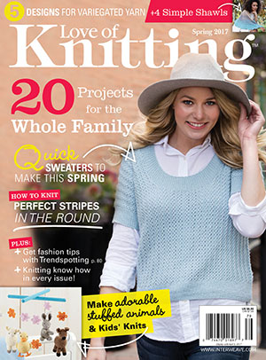 love of knitting spring 2017