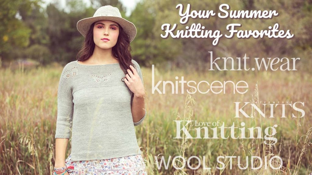 Your 10 Favorite Summer Knitting Patterns from 2017