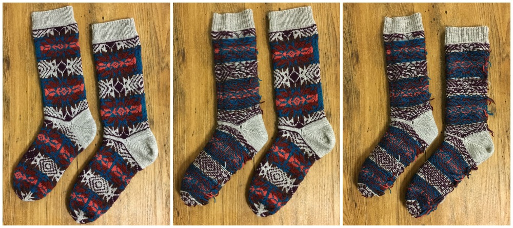 stranded colorwork socks