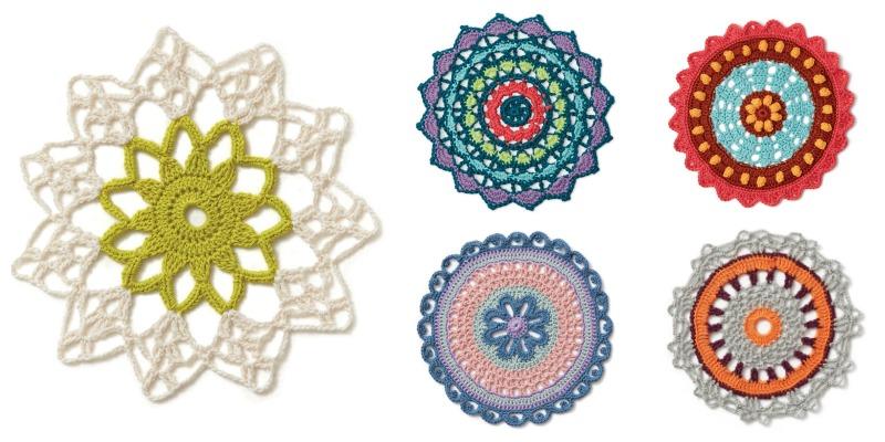 Finished(ish) Object Friday: Crochet Mandala Wall Hanging