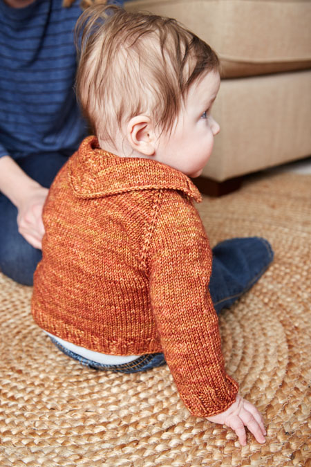 red feather sweater knitting pattern