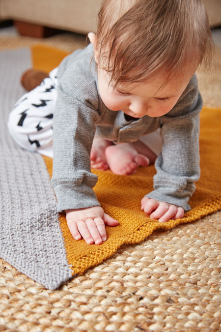 Baby Blanket Knitting Pattern