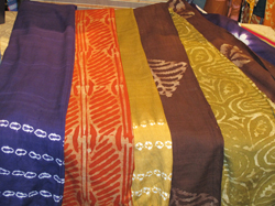 Handwoven, hand-dyed fair trade fabrics