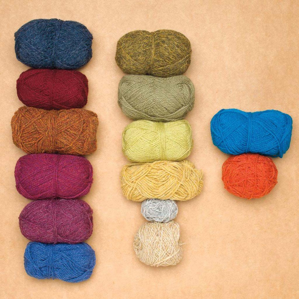 fair isle color selection