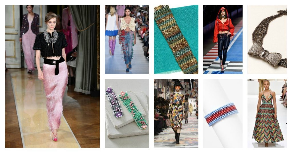 6 Bead-Weaving Trends from Fall Fashion Week 2018