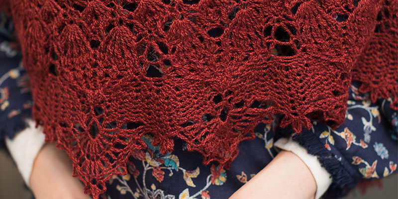 Fall River Shawl: Wrap Yourself in Crochet Comfort