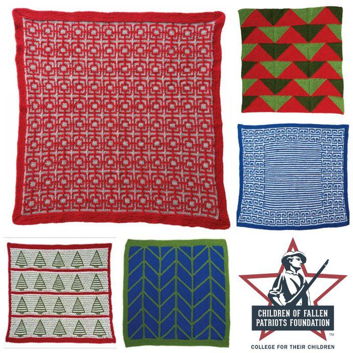 Free blanket square patterns for Children of Fallen Patriots