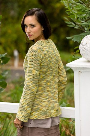 You'll love this small knitting project that includes a knitted cardigan pattern called Mayville Cardigan...perfect for travel knitting.