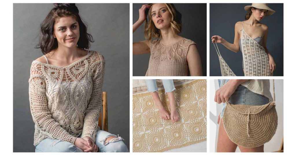 Your Favorite Patterns from <em>Interweave Crochet</em> Summer 2018!