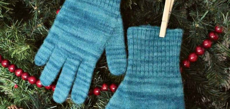 Free Pattern Felted Gloves
