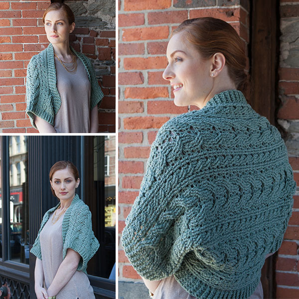 st. patrick's day with celtic cable crochet