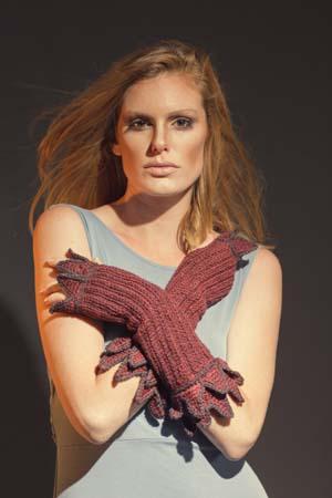 Fervor Gauntlets Crochet Fingerless Mitts