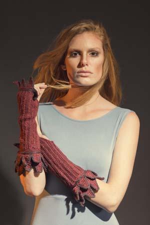 Fervor Gauntlets Crochet Arm Warmers