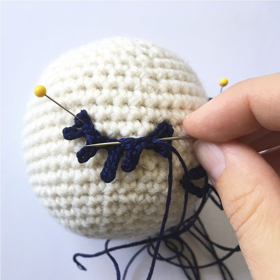 Hand Embroidery: a Personal Touch to Amigurumi | LillaBjörn's ... | 1080x1080
