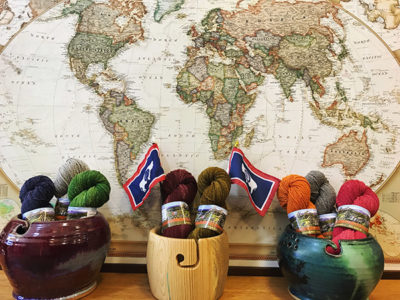 This week we focus on a little yarn shop called Cowgirl Yarn!