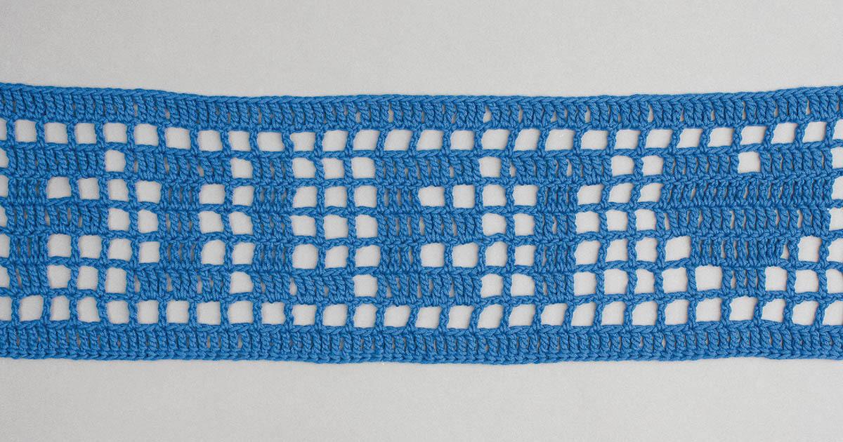 How To Filet Crochet Inside Outside The Box Crochet Interweave
