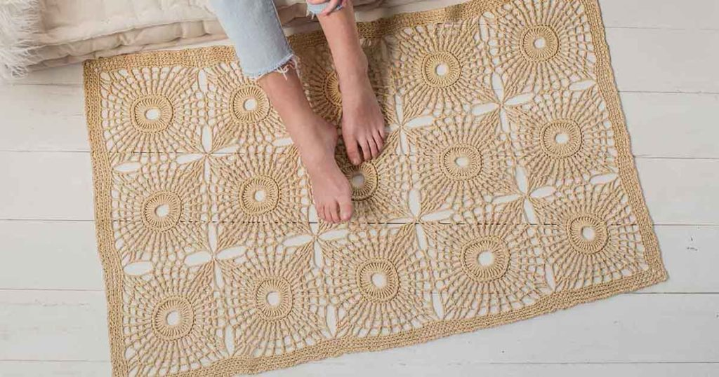 5 Reasons the First Light Raffia Rug Is the Perfect Project for Summer