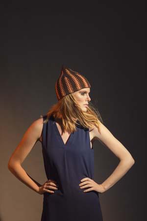 Flame Hat Tunisian Crochet Pattern