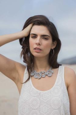 Flor Necklace from Interweave Crochet Summer 2016