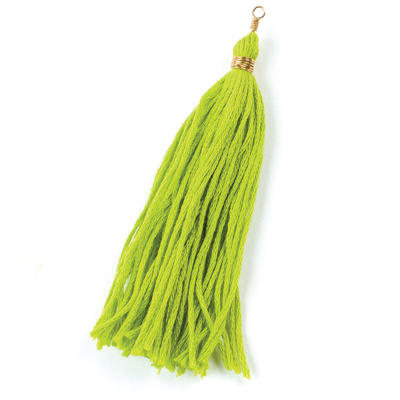 How To Make An Embroidery Floss Tassel Interweave