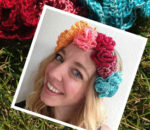 How to Crochet Yourself a Flower Crown