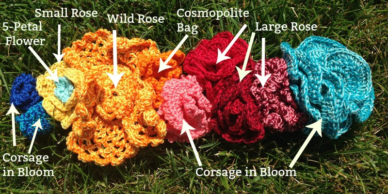 How to Crochet Yourself a Flower Crown - Interweave