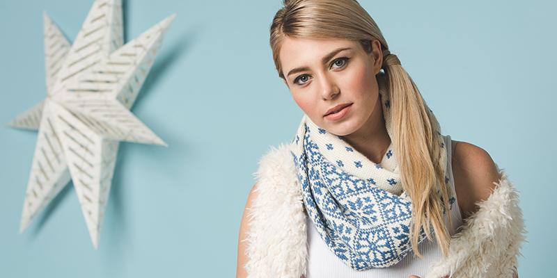 Pattern of the Week: Flurries Cowl