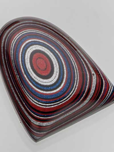 trend watch, Fordite, Bead Fest, cabochon