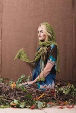 Forest Hoodie Scarf Crochet Pattern